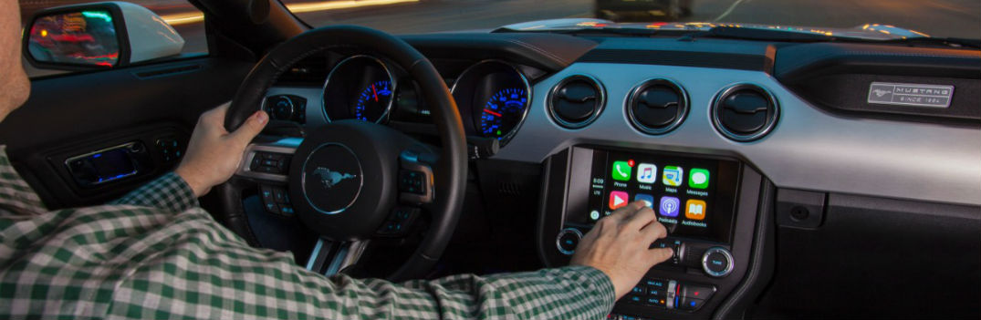 2017 ford mustang apple carplay sync 3 ford