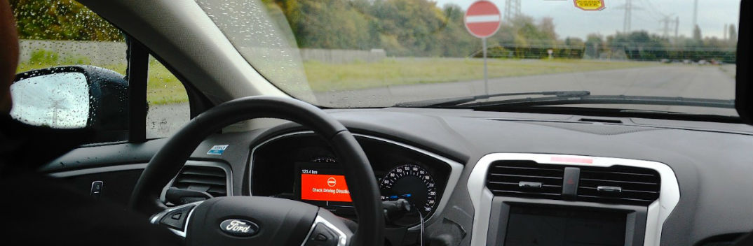 ford wrong way alert safety technology feature