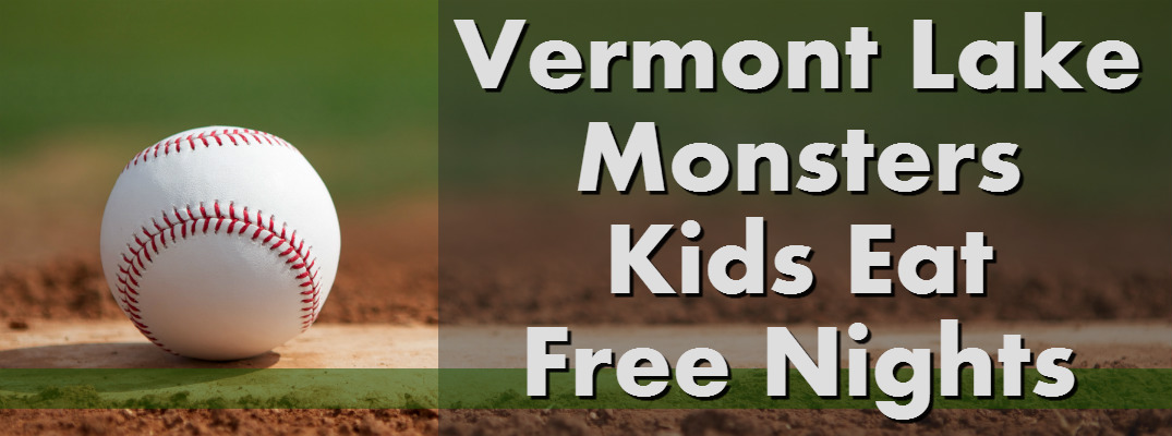 When are the Kids Eat Free Nights at Vermont Lake Monsters games?