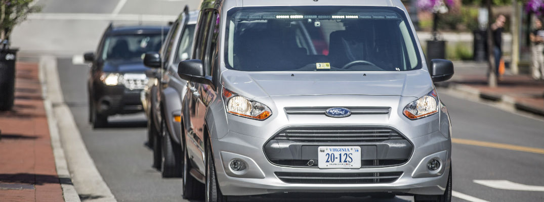 New Ford Autonomous driving warning lights