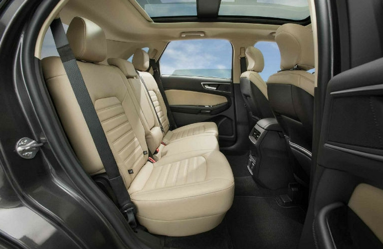 Ford Edge View Of Rear Seats