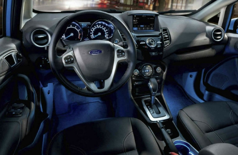 Attractive 2018 Ford Fiesta Steering Wheel And Dash.