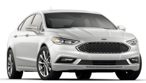 2018 ford fusion exterior color options