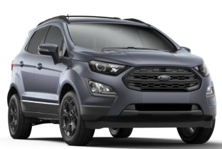 2018 Ford Ecosport Color Choices