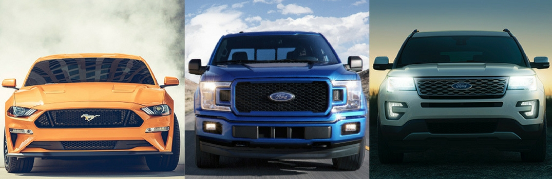 Best Ford Vehicles for Spring Driving