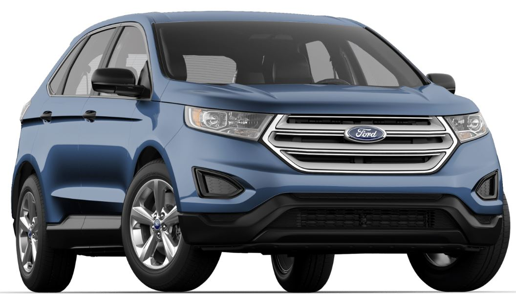 ford edge color choices