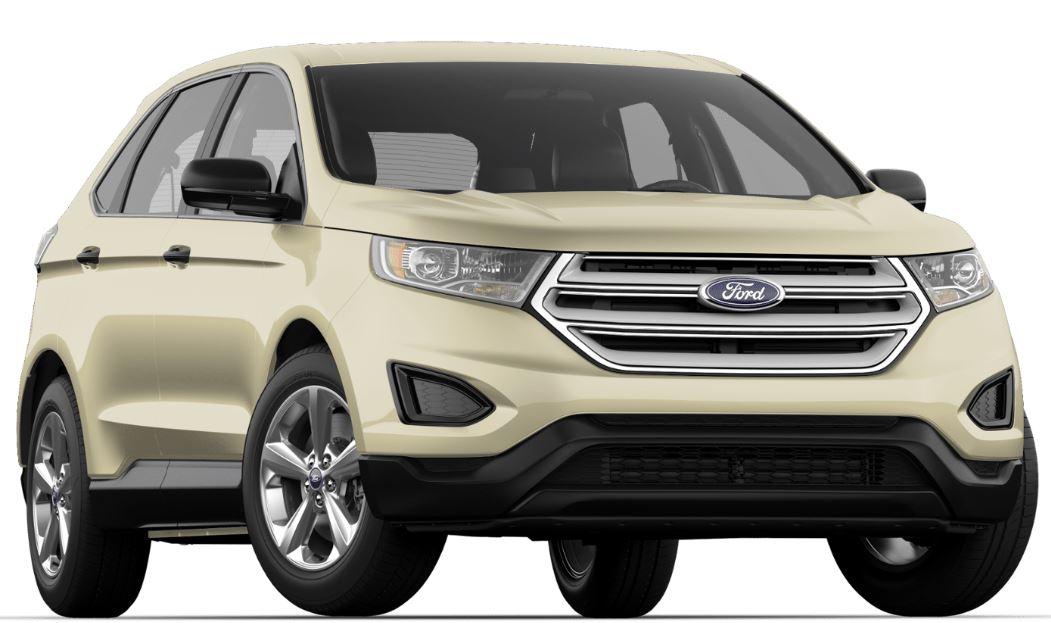 Ford Edge White Gold