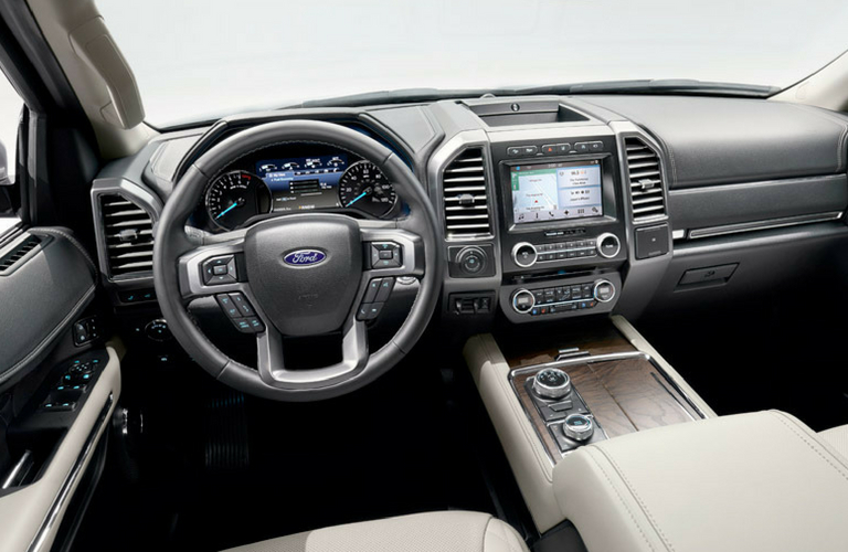 Ford Expedition Dash And Wheel View