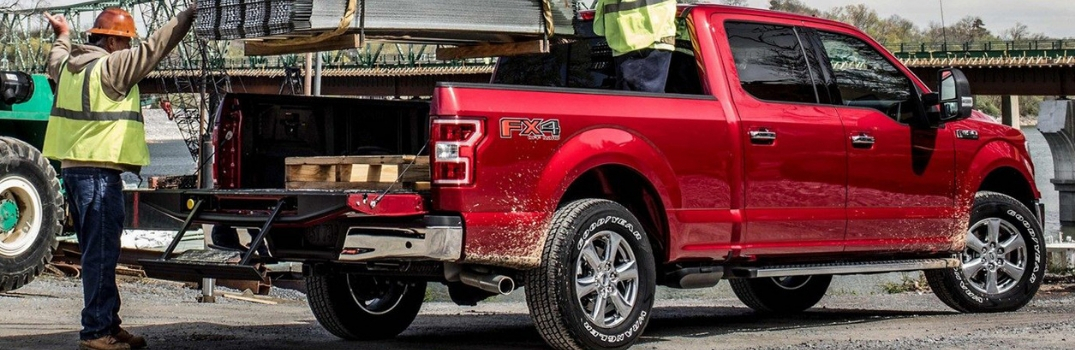 2019 Ford F-150 parked outside
