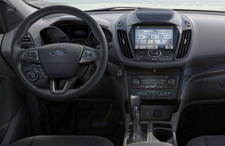2019 Ford Escape interior dash