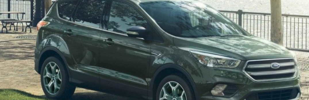 2019 Ford Escape parked outside