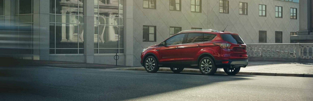 2019 Ford Escape parked outside in shade