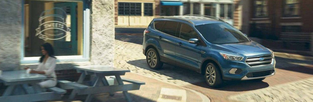 2019 Ford Escape parked outside in driveway