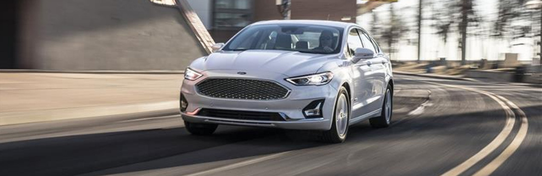 2019 Ford Fusion driving on the road