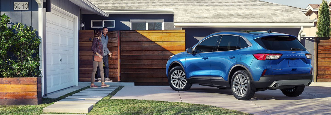 2020 Ford Escape parked in driveway
