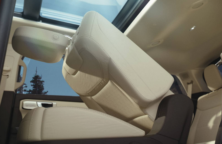 2020 Ford Explorer seat view