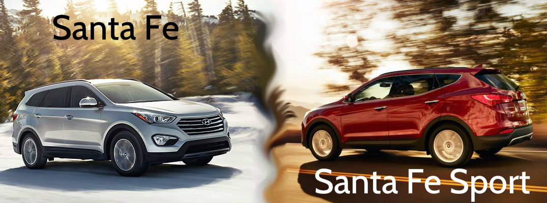 Differences Between The Hyundai Santa Fe And Sport There Are Certainly A Lot Of