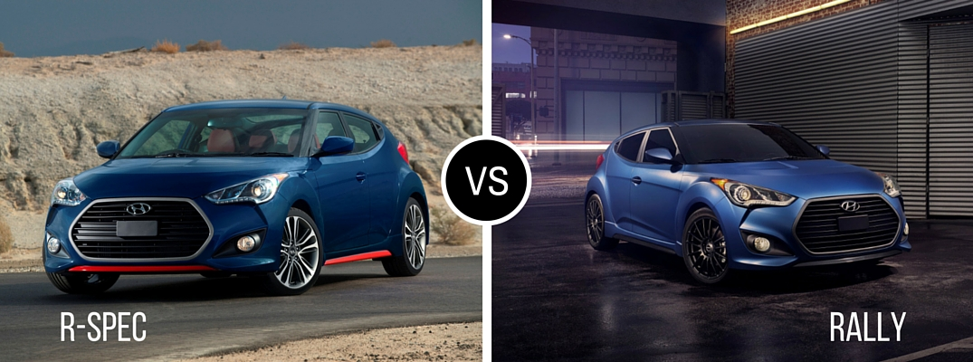 2016 Hyundai Veloster Turbo R-Spec vs Rally