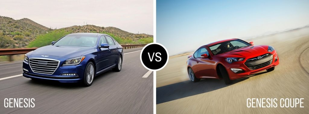 Hyundai Santa Fe Vs Honda Pilot >> Differences Between the 2016 Hyundai Genesis and Genesis Coupe