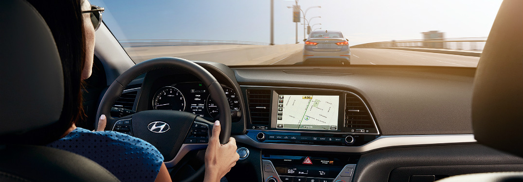Is navigation available on the 2017 Elantra?