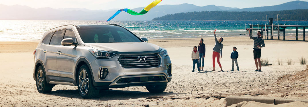 Show me the 2018 Hyundai Santa Fe's Performance & Efficiency Specs