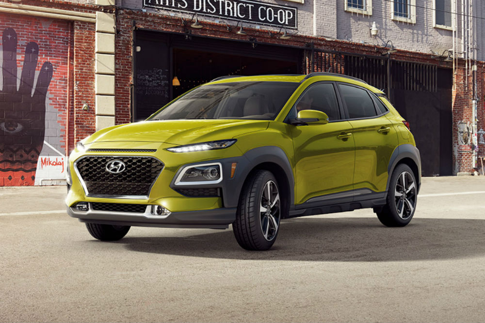 2018 Hyundai Kona in Lime Twist
