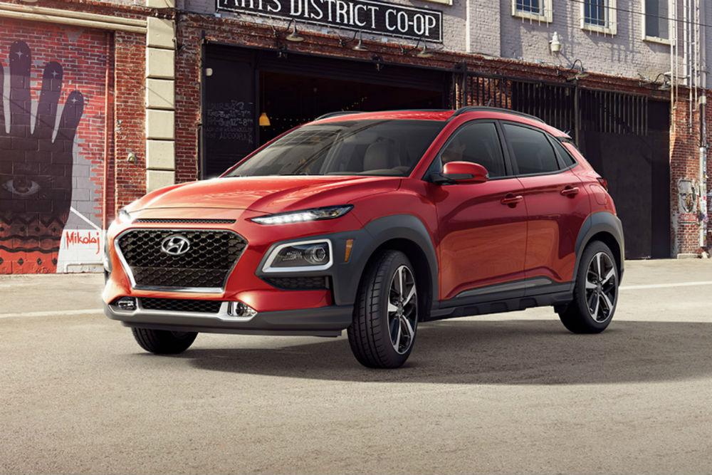2018 Hyundai Kona in Pulse Red