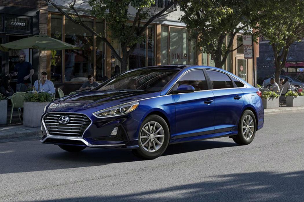 2018 Hyundai Sonata in Lakeside Blue