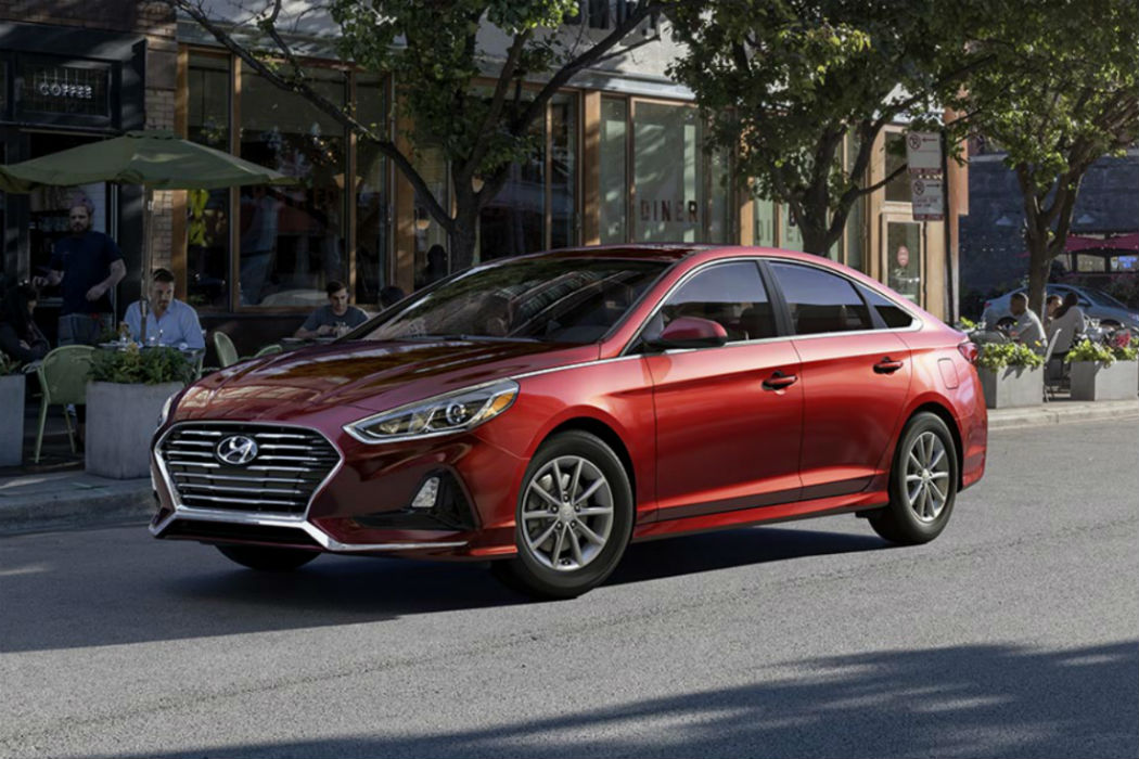2018 Hyundai Sonata in Scarlet Red