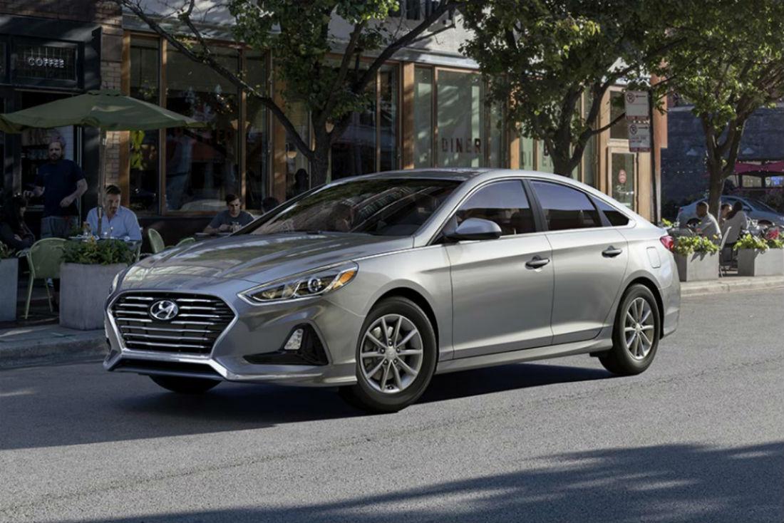 2018 Hyundai Sonata in Symphony Silver