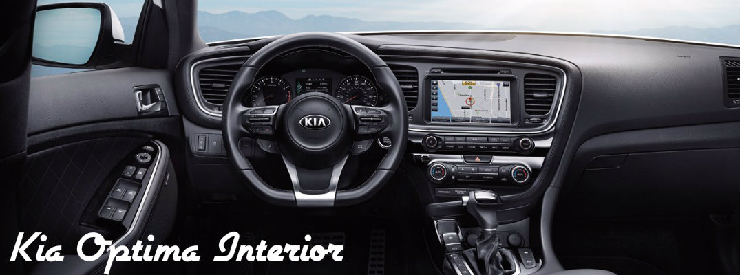 2015 Kia Optima Interior Greensboro NC Photo Gallery