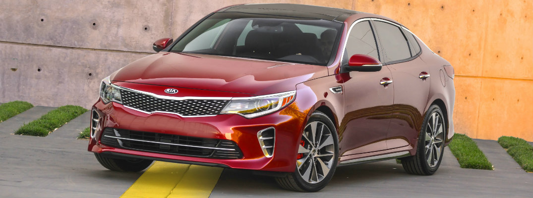 2016 Kia Optima European Design