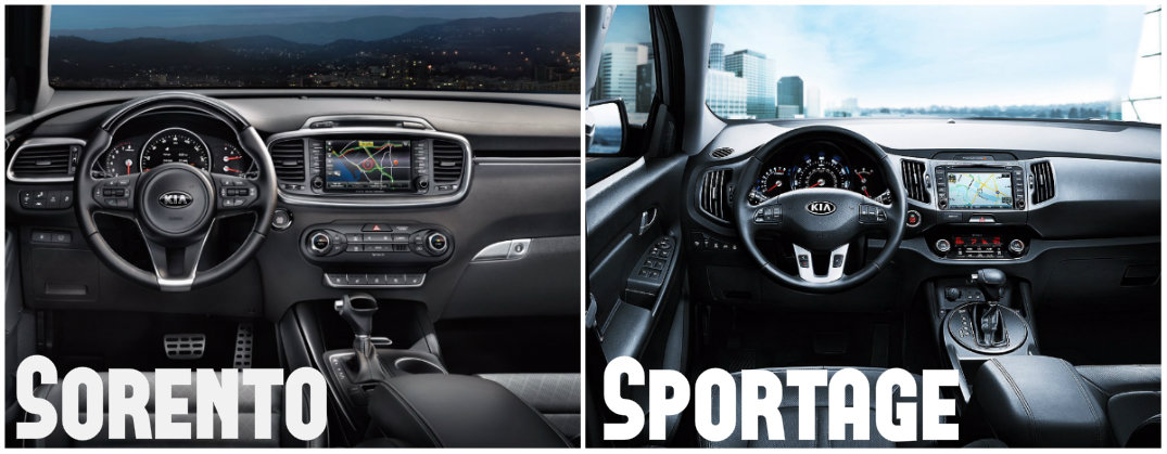 High Quality 2016 Kia Sorento Interior Vs 2015 Kia Sportage Interior