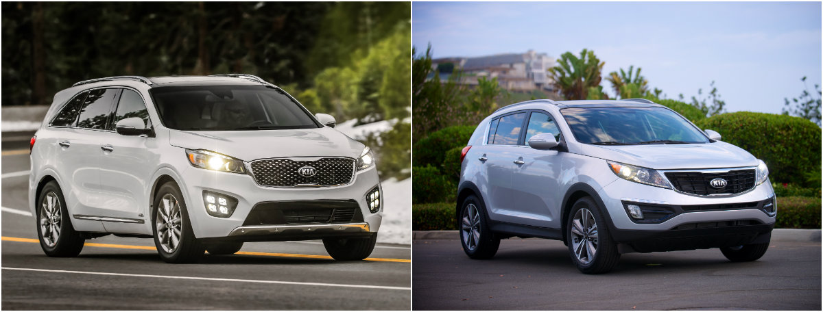 Kia Vehicles with All Wheel Drive