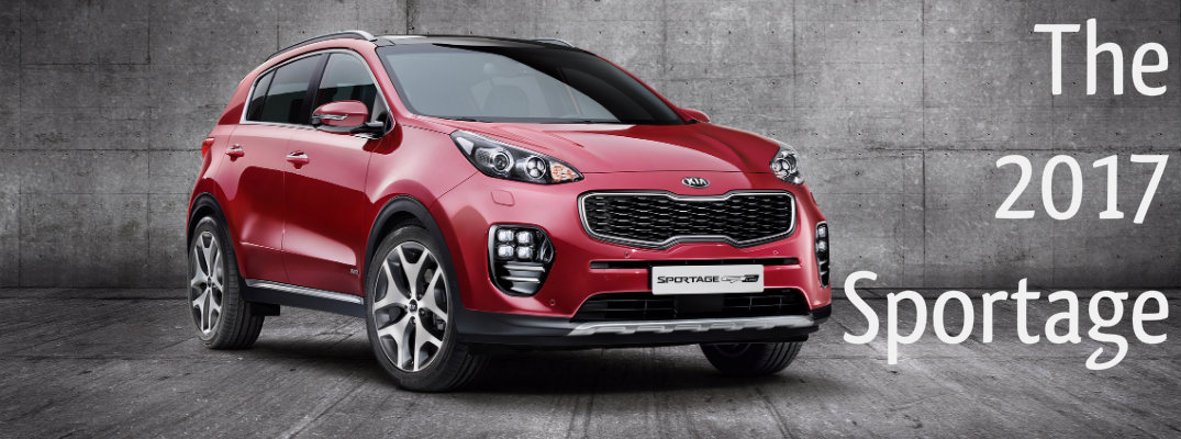 Design Changes to the 2017 Kia Sportage