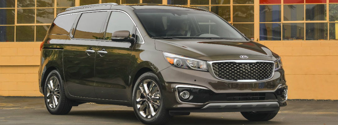 What changes were made to the 2016 Kia Sedona
