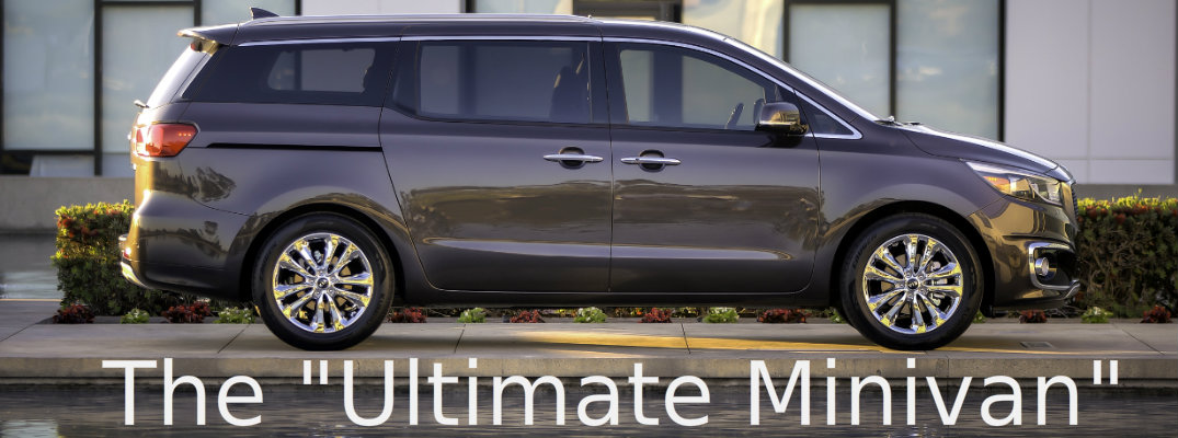 2015 Kia Sedona Named Ultimate Minivan