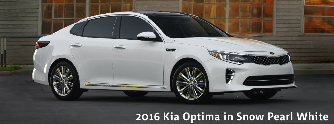 2016 Kia Optima Color Options