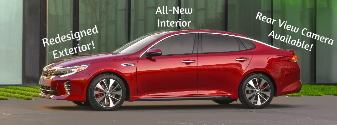 Changes to the 2016 Kia Optima