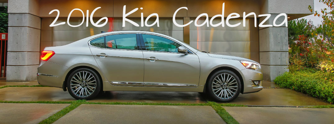 What changes were made to the 2016 Kia Cadenza
