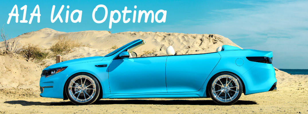 Does the Kia Optima Come as a Convertible