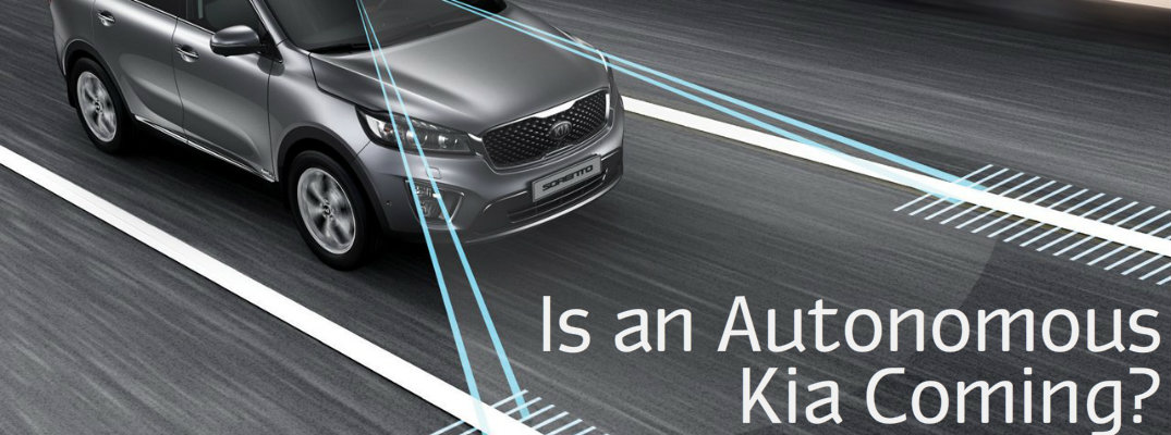 Kia Autonomous Driving Vehicle