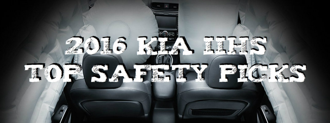 2016 Kia IIHS Top Safety Picks