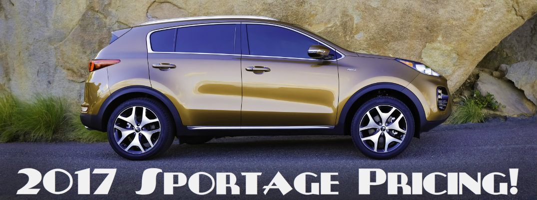 how much does the 2017 Kia Sportage cost