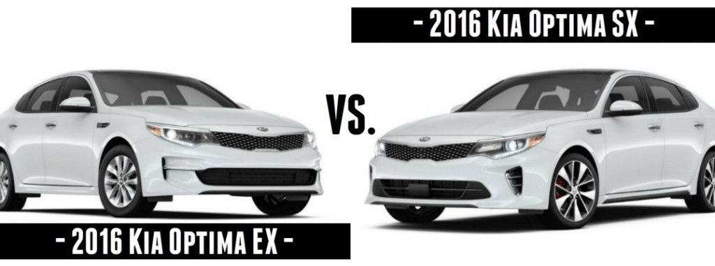 Honda Accord Vs Toyota Camry >> 2016 Kia Optima EX vs. SX