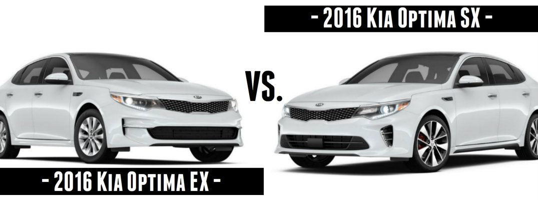 2016 Kia Optima EX vs SX