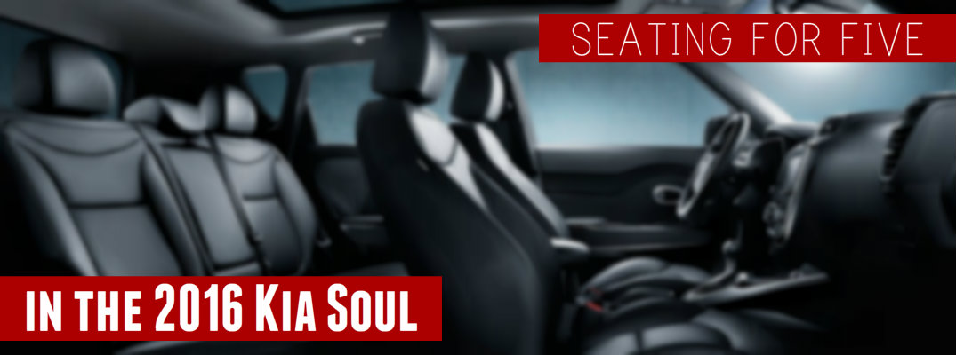 does the kia soul have third row seating