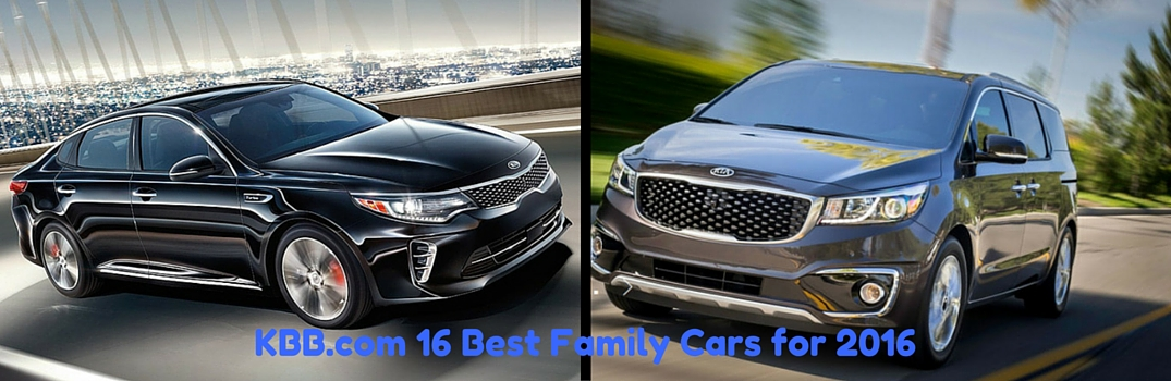 best family vehicles 2016 kia optima 2016 kia sedona