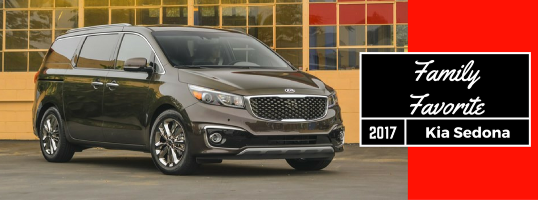 2017 Kia Sedona Family Favorite