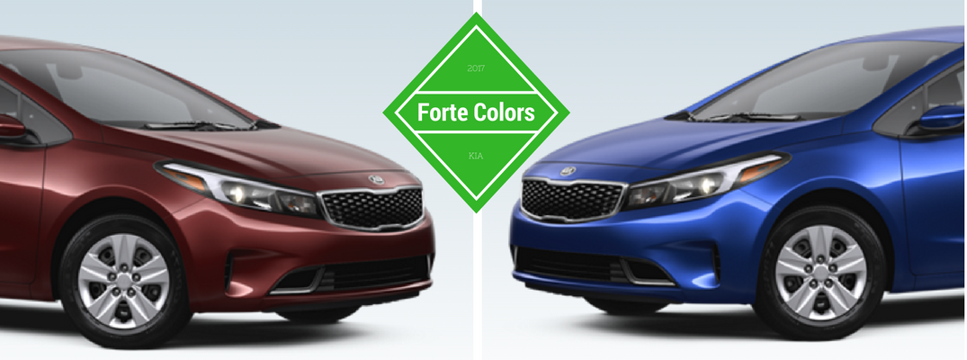 2017 Kia Forte Interior And Exterior Colors